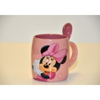 Minnie Mouse Mug and Spoon