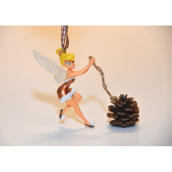 Disney Tinker Bell and Pine Cone Ornament