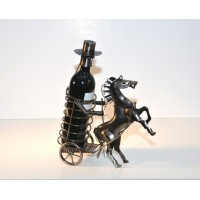 Horse Carriage – Handmade Bottle Holder