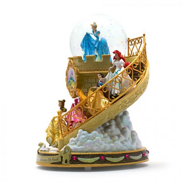 Disney Princess Staircase Musical Snowglobe