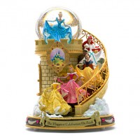 Disney Princess Staircase Musical Snowglobe