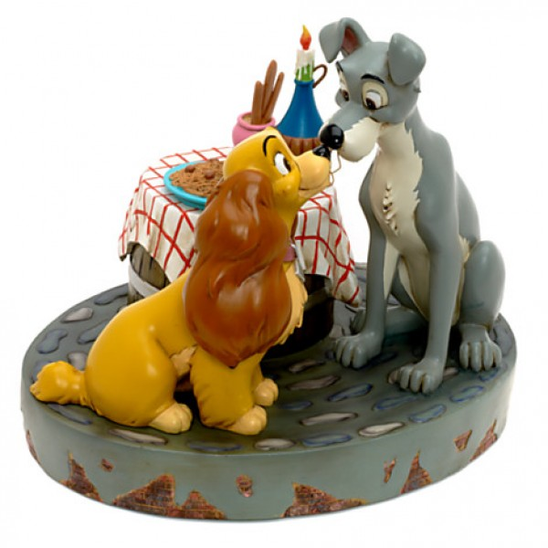 Lady and the Tramp - Bella Notte Figurine