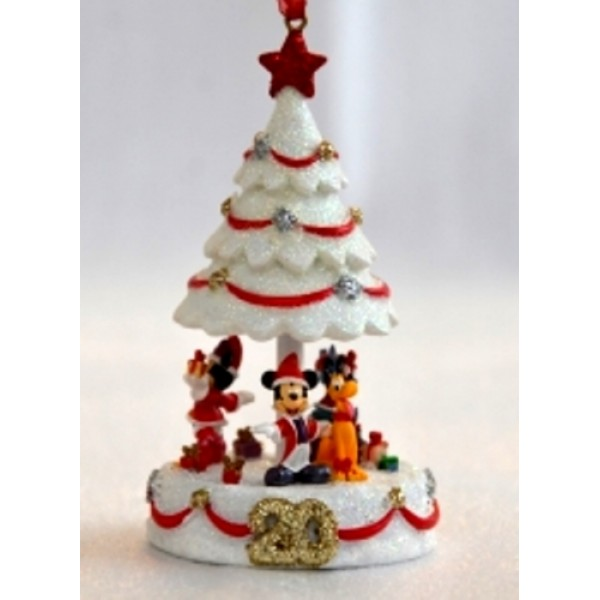 Disneyland Paris 20th Anniversary Christmas Tree Ornament
