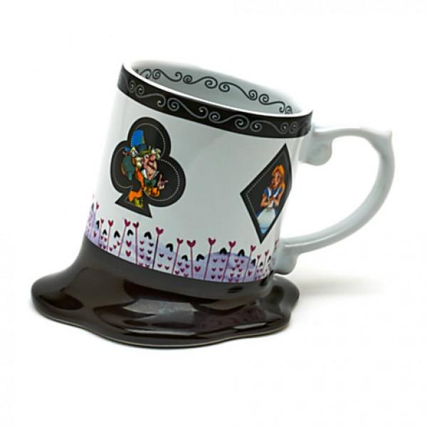 Alice In Wonderland Melted Mug
