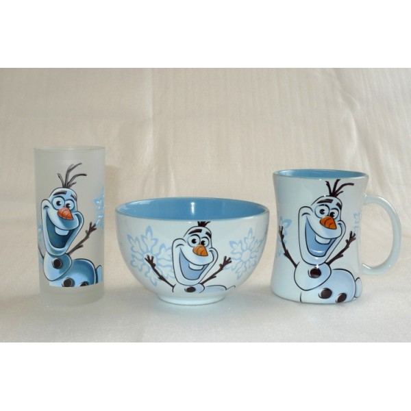 Disney Olaf Breakfast Set