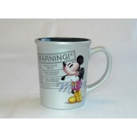 Disney Mickey Mouse Warning Coffee Mug