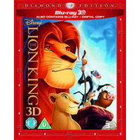 The Lion King 3D (3D Blu-Ray, 2D Blu-Ray and DVD) Blu-ray