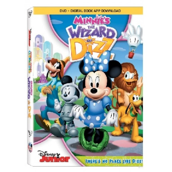 Minnie's The Wizard Of Dizz DVD