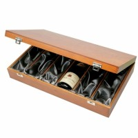 Luxury wooden Box- 6 Bottles