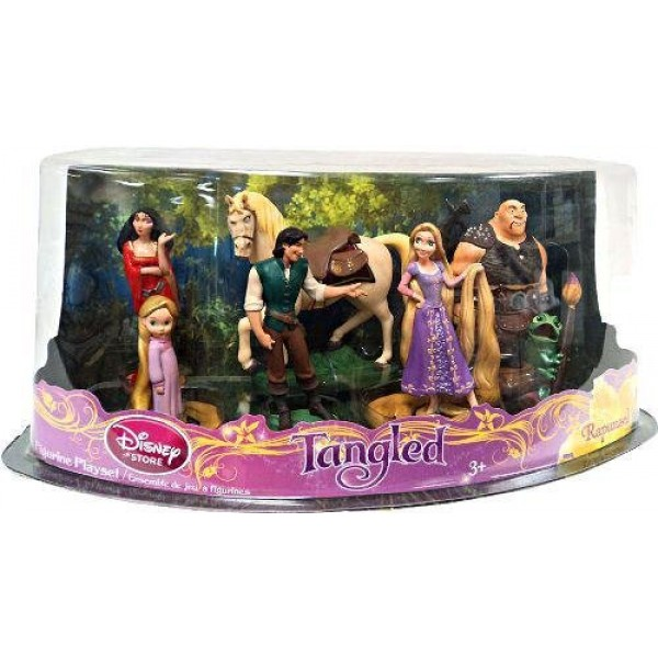 Disney Rapunzel Figurine play set