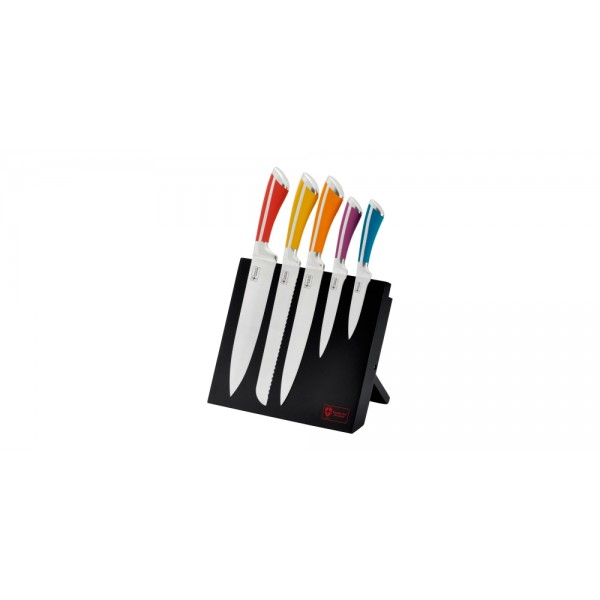 Royalty Line Five Piece Stainless Steel Knife Set With