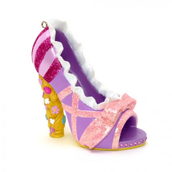 Rapunzel -Tangled - Miniature Decorative Shoe