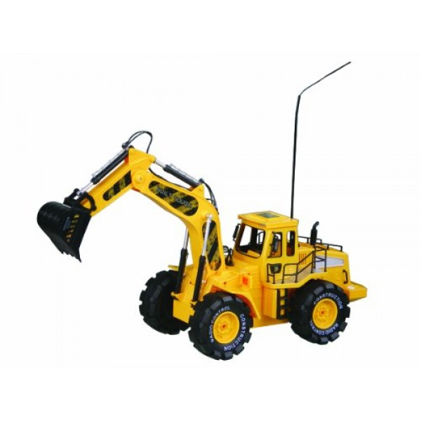 Construction Building Monster Bulldozer Digger Truck
