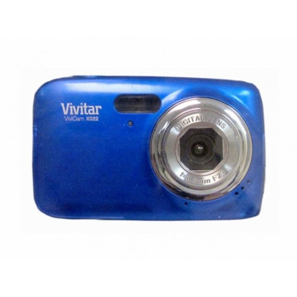 ViviCam X022 HD 10.1 Mega Pixel Digital Camera-blue
