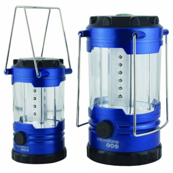 Two LED Lantern Set - Ultra Bright - 18 Hour Burn