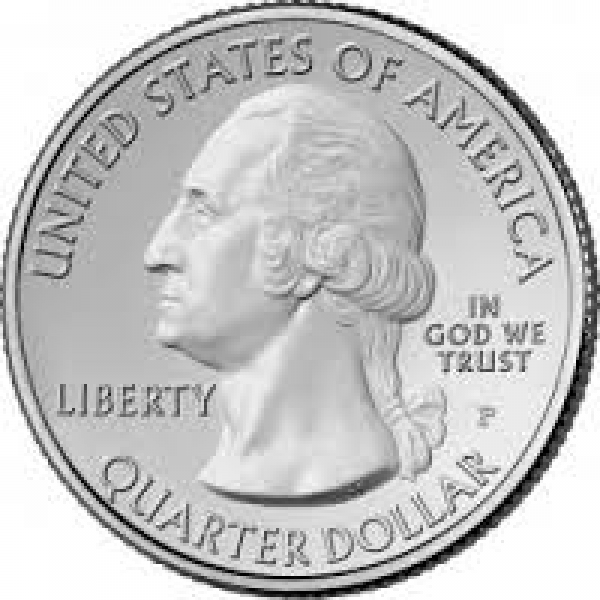 2012 National Parks Quarter Dollar Coin