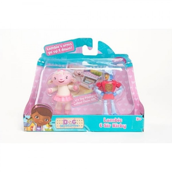 Doc Mcstuffins Lambie and Sir Kirby