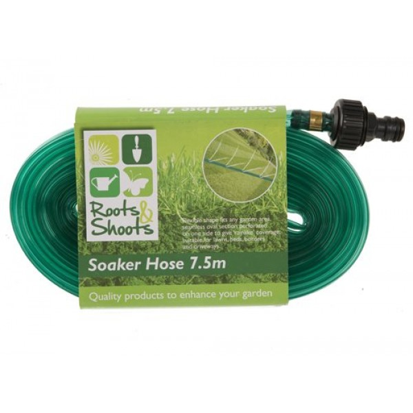 Sprinkler Perforated Garden Watering Soaker Hose 7.5m