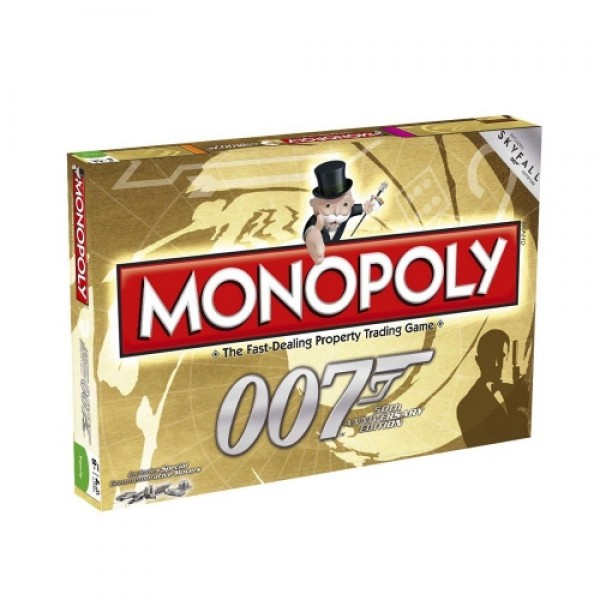 Monopoly 007 50th Anniversary Edition James Bond