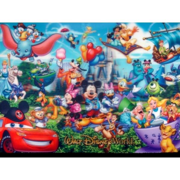 Walt Disney World 3D Placemat