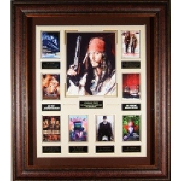 Johnny Depp - Signed Movie Collection Photo Films Cell