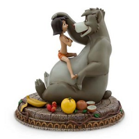Mowgli and Baloo Figurine