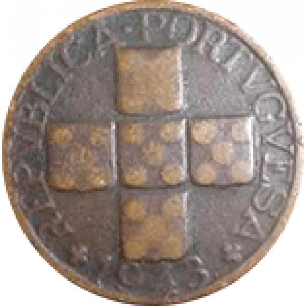 1943 Portugal XX Centavos